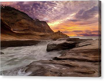 Cape Kiwanda Sunset Canvas Print