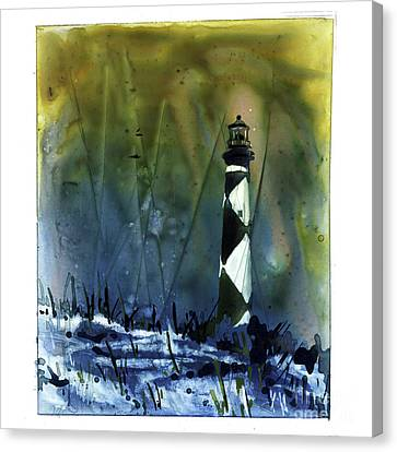 Cape Lookout Lighthouse Canvas Print by Ryan Fox