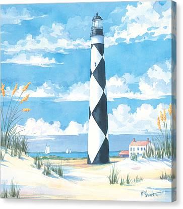 Cape Lookout Canvas Print by Paul Brent