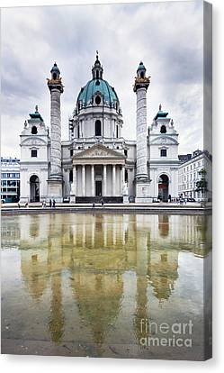Capitol City Of Vienna Canvas Print