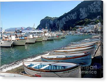 Capri, Campania, Italy Canvas Print by Lilach Weiss