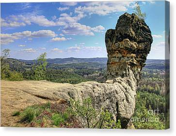 Capska Cudgel - Rock Formation Canvas Print by Michal Boubin