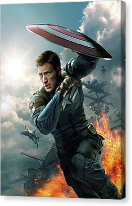 Captain America The First Avenger 2011 Canvas Print by Unknown