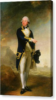 Captain John Gell Canvas Print