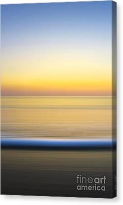 Caramel Dawn - Part 2 Of 3 Canvas Print by Sean Davey