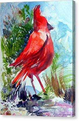 Cardinal Canvas Print by Mindy Newman