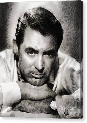 Cary Grant Hollywood Actor Canvas Print by John Springfield