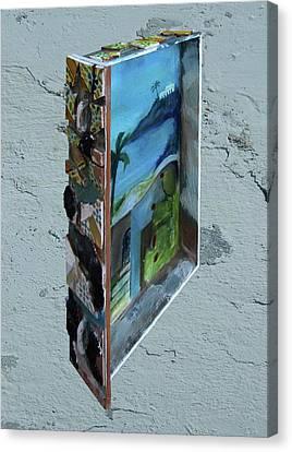 Cassetto Canvas Print by Daniele Baiamonte