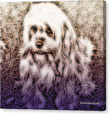 Cassie Girl Canvas Print by Robert Orinski