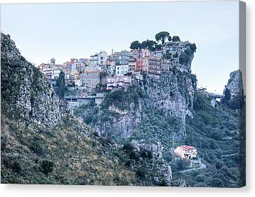 Castelmola - Sicily Canvas Print by Joana Kruse