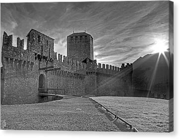 Castle Canvas Print by Joana Kruse