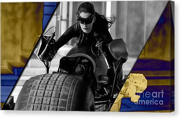 Catwoman Collection Canvas Print by Marvin Blaine