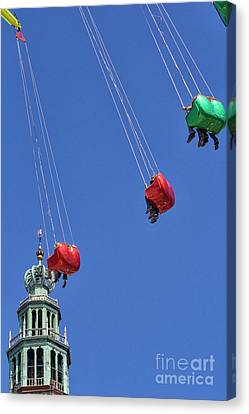Canvas Print - Chairoplane by Patricia Hofmeester