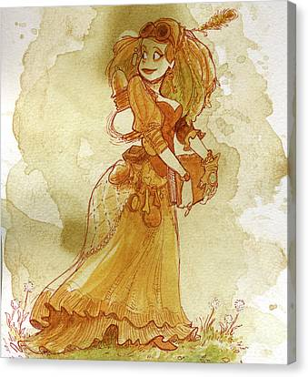 Chamomile Canvas Print by Brian Kesinger
