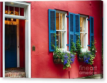Charleston Charm V Canvas Print by George Oze