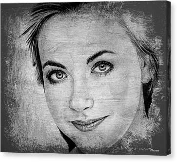 Charlotte Church Canvas Print by Andrew Read