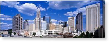 Charlotte, North Carolina, Usa Canvas Print by Panoramic Images