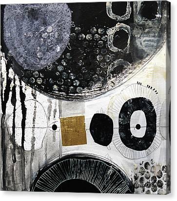 Mixed Media On Canvas Print - Chasing Romance by Irina Rumyantseva