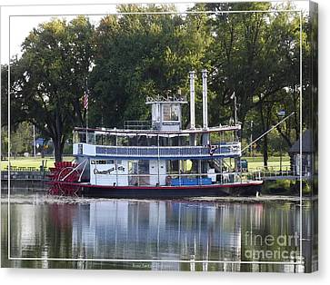 Chautauqua Belle On Lake Chautauqua Canvas Print