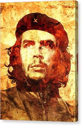 Che Guevara Canvas Print by J- J- Espinoza