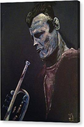 Man Canvas Print - Chet by Nick Young