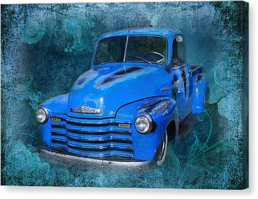 Chev Pickup Canvas Print by Keith Hawley