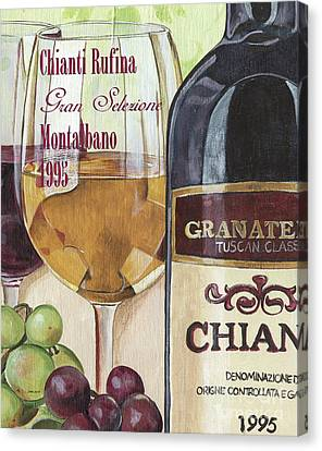Cellar Canvas Print - Chianti Rufina by Debbie DeWitt