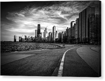 Chicago From North Avenue Beach Canvas Print