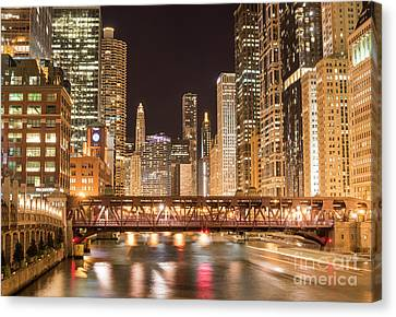 Chicago Canvas Print by Juli Scalzi
