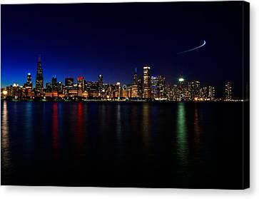Chicago-skyline 3 Canvas Print