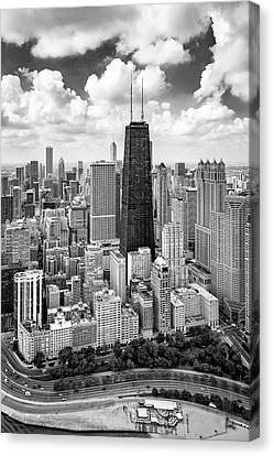 Canvas Print featuring the photograph Chicago's Gold Coast by Adam Romanowicz