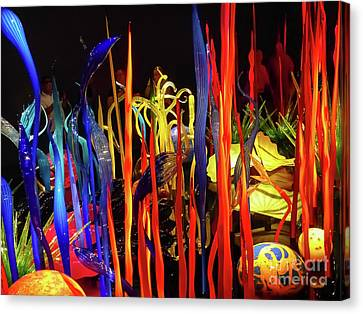 Chihuly Garden And Glass Exhibition Canvas Print