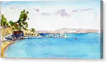 China Camp Village Canvas Print
