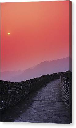 China, Mu Tian Yu Canvas Print by Gloria & Richard Maschmeyer - Printscapes