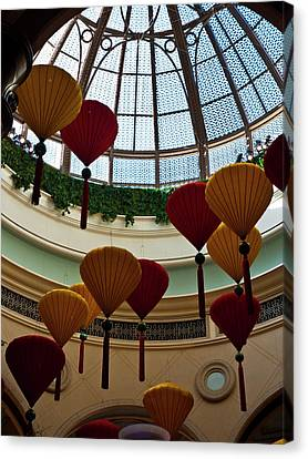 Chinese Lanterns Canvas Print by Rae Tucker