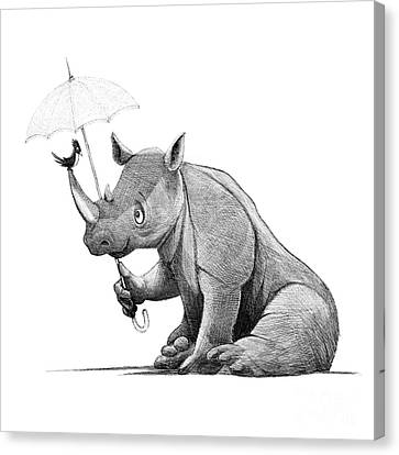 Ipad Design Canvas Print - Choose Kindness by Michael Ciccotello