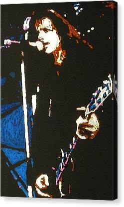 Chris Cornell Canvas Print by Grant Van Driest