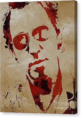 Coldplay Canvas Print - Chris Martin Coldplay by Gull G
