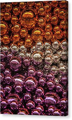 Decorated For Christmas Canvas Print - Christmas Decoration by Jenny Rainbow