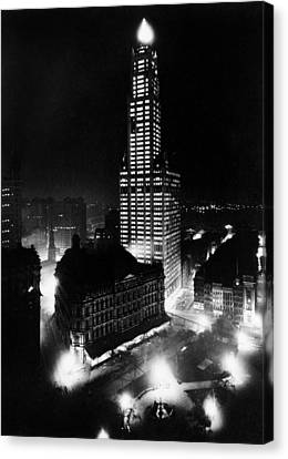 Chrysler Building Canvas Print by American School