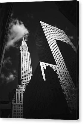 Chrysler Building - New York City Canvas Print by Vivienne Gucwa