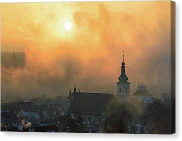 Church Of Our Lady Victorious, Prague, Czech Republic. Canvas Print