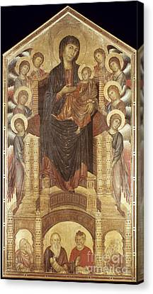 Cimabue: Madonna Canvas Print by Granger