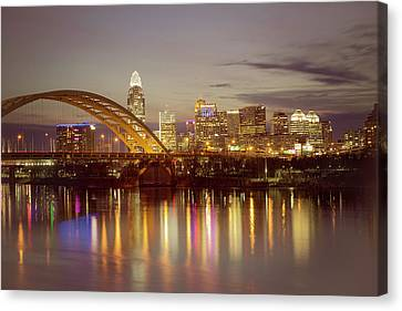 Cincinnati Canvas Print by Scott Meyer