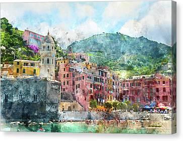 Cinque Terre Italy Canvas Print