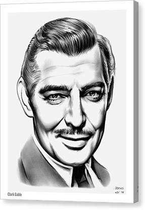Clark Gable Canvas Print by Greg Joens