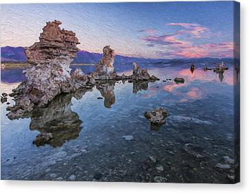 Clear And Calm II Canvas Print by Jon Glaser