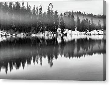 Canvas Print featuring the photograph Clear Lake by Cat Connor