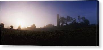 Clonmacnoise Monastery, County Offaly Canvas Print by The Irish Image Collection