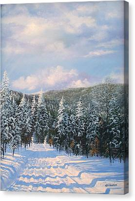 Closed In Winter Canvas Print